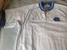 New mens vintage Nike air Jordan North Carolina basketball zippered warmup top L