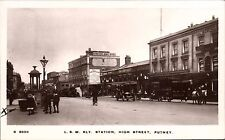 Putney. London & South Western Railway Station # S 8656 by WHS Kingsway.