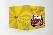 Wizardi 5d Diamond Painting Card Kit Wc0275 Car Birthday Card