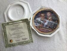 James Bond Goldfinger Franklin Mint Plate + Authenticity Certificate
