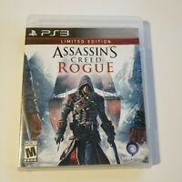 Assassin's Creed: Rogue -- Limited Edition (Sony PlayStation 3, 2014) PS3