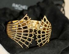 Rachel Zoe Gold Tone JUNIPER Cuff Bracelet. NEW