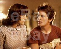 Back To The Future (1985) Michael J Fox, Lea Thompson 10x8 Photo