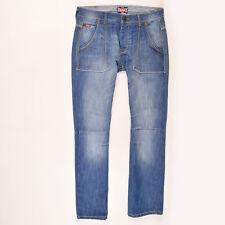 Lee Cooper Herren Hose Freizeithose Gr.32 Jeans Blau, 52048