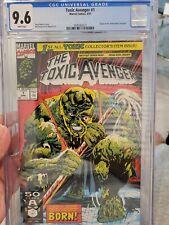 Toxic Avenger #1 (1991) Key 1st Issue Marvel CGC 9.6
