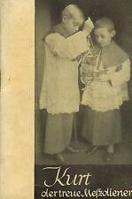 Gerbert, Kurt der treue Meßdiener, Ministrant, katholische Kirche, Laumann 1940