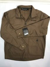 2f4ea4989e7 NWT DRI-DUCK Men s Canyon Cloth Unlined Brown Jacket LARGE. 04290228