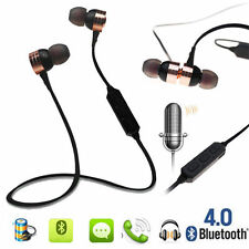 Bluetooth 4.0 Écouteur Casque Stéréo Sport Oreillette Headset Earphone Wireless