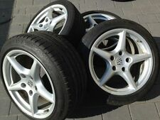 4x Alufelgen mit Reifen Porsche 997 Bj 2009 18 Zoll 225 und 245er Reifen 993 996