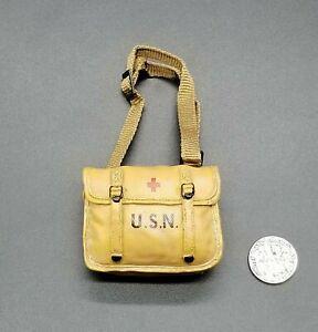 """1:6 Ultimate Soldier WWII US Navy Corpsman Medic Bag 12"""" GI Joe Dragon BBI"""