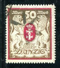 DANZIG 1922 100Xb gest TADELLOS BEFUND INFLA BPP 300€(S7053
