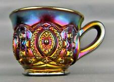 CARNIVAL GLASS - NORTHWOOD MEMPHIS Purple Punch Cup 3835