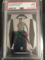 Panini 2017-18 Prizm Jayson Tatum Boston Celtics #16 Rookie Card PSA 9 🔥🔥🔥