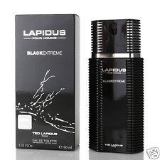 TED LAPIDUS BLACK EXTREME EAU DE TOILETTE HOMME 100ml VAPO NEUF SOUS BLISTER