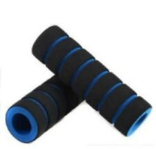 1 Pair Bike Bicycle BMX Cycle Soft Handle Rubber Bar Grips UK SELLER Fast Ship Blue