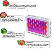 BestVA 300W Full Spectrum LED grow light for Medical Flower Plant Grow Veg-Bloom