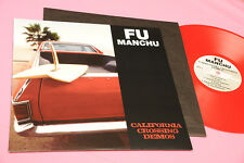 FU MANCHU LP CALIFORNIA CROSSING DEMOS ORIG RED VINYL NM !!!!!!!!!!!!!!!!!!!!!!!
