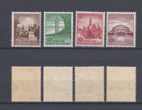 GERMAN REICH 1938 Sports Festival in Breslau Mint ** 486-489 (Mi.665-668)