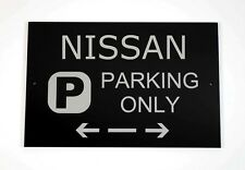 Nissan Parking Only Sign - Cars and Signage - Asscher Design - Great Britain