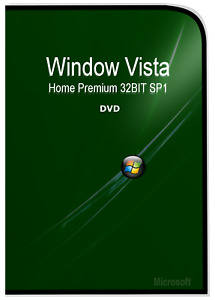 Microsoft Window Vista 32bit Operation System DVD & Remove Activation CD disk
