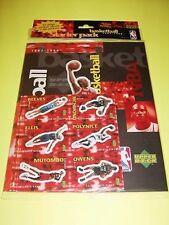 1997-98 Upper Deck '97 European NBA Sticker Collection Jordan Bryant Malone
