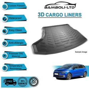 CARGO LINER REAR TRUNK MAT FOR Citroen C4 Grand Picasso 2014-UP 7 SEAT