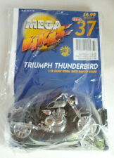 Hachette Mega Bikes 37 Triumph Thunderbird Maisto 1:18 Scale Motorcycle & Stand
