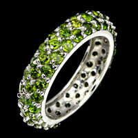 Details about  /Chrome Diopside 1.65 Ct Gemstone 14k White Gold Ring for Women//Girls