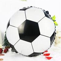 New 18inch Football Foil Balloon Soccer Ball Round Helium Balloons