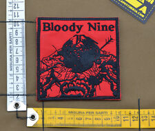 "Ricamata / Embroidered Patch Navy Seal ""Bloody Nine"" with VELCRO® brand hook"