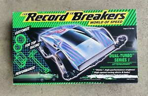 HASBRO RECORD BREAKERS WORLD OF SPEED DUAL TURBO SERIES AFTERBURNER MINT IN BOX