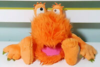 Animal Magic Orange Monster Plush Toy 20cm Tall!