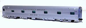 "Atlas California Zephyr 6-5 Sleeper ""Silver Thrush""  - O Scale, 2-Rail"
