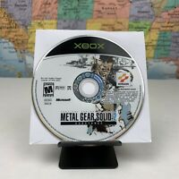SHIPS SAME DAY Metal Gear Solid 2 Substance Microsoft Xbox 2002 Disc Only Tested