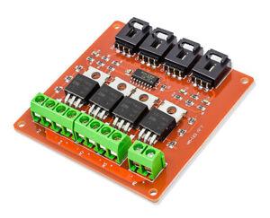 4 kanal MOSFET Switching-Modul IRF520 ähnl. Relais für Arduino Raspberry Pi PIC