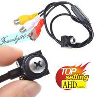 AHD screw 720P HD mini spy hidden micro pinhole Nanny Tiny AHD HD AV BNC camera