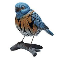 EDGE SCULPTURE BY MATT BUCKLEY WESTERN BLUE BIRD FIGURE 20.32 x 16.5x 14.6CM