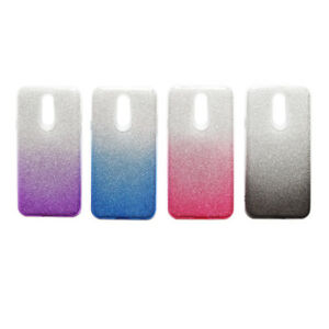 NEW 2Tone LUXURY Glitter Slim PROTECTIVE TPU Case Cover For LG STYLO 4 SHINY