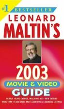 Leonard Maltin's 2003 Movie and Video Guide - Dictionary Of Media Shows !!