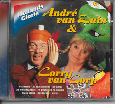 ANDRE VAN DUIN & CORRY VAN GORP - Hollands Glorie CD Album 16TR 2005 RARE!