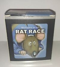 Welcome To The Rat Race Mega Mini Kits game wind up toy book gag gift New