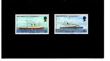 GUERNSEY 1973 Mail Boats Post Ships MNH