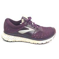 Brooks Glycerin 16 Running Shoes Women Size 8.5 8 1/2 B Purple Maroon Sneakers
