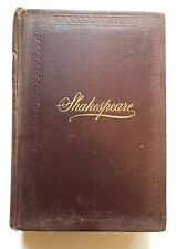 1894 Shakespeare's Complete Works  by Clark and Wright-Illustrated-Good!