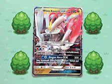 Pokemon - White Kyurem GX - 48/70 - SM Dragon Majesty - Half Art