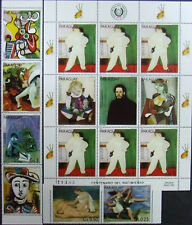 Paraguay -Picasso Paintings- 6 st+1M/Sh, MNH, PG 057