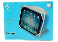 Portable Tablet Cushion Stand Support Bean Bag Pillow Kindle ipad Android Blue