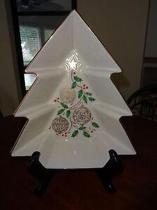 Lenox Christmas Decorative Serving Bowl
