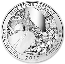 2015 5 oz Silver ATB Blue Ridge Parkway National Park Coin NC