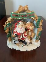 Winkle Claus Collectible Musical Santa Merry Christmas